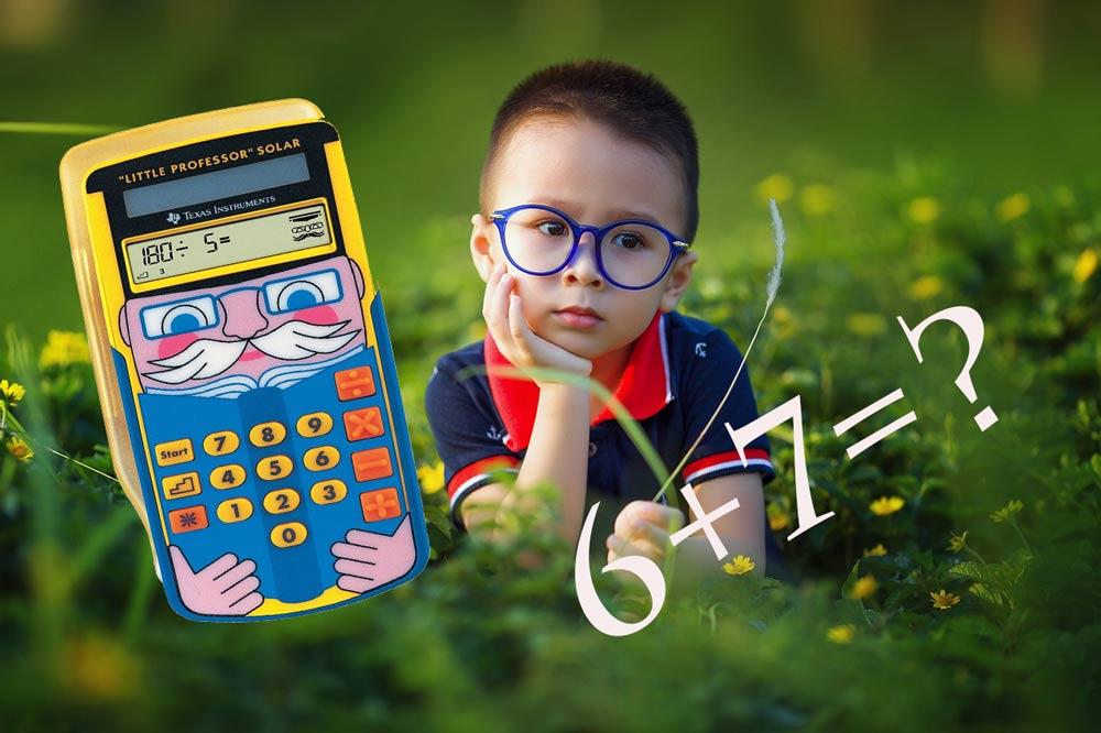 Kinder taschenrechner lernhilfe taschenrechner